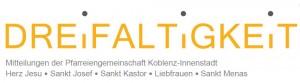 Pfarreiengemeinschaft Koblenz-Innenstadt Dreifaltigkeit