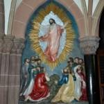 "Relief ""Jesu Himmelfahrt"""