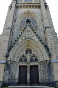 Detailansicht Hauptportal